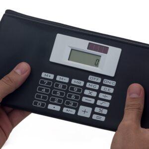 Carteira com Calculadora - REF: 12024