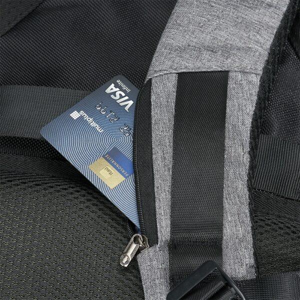 Mochila Anti-Furto USB - REF: 1306