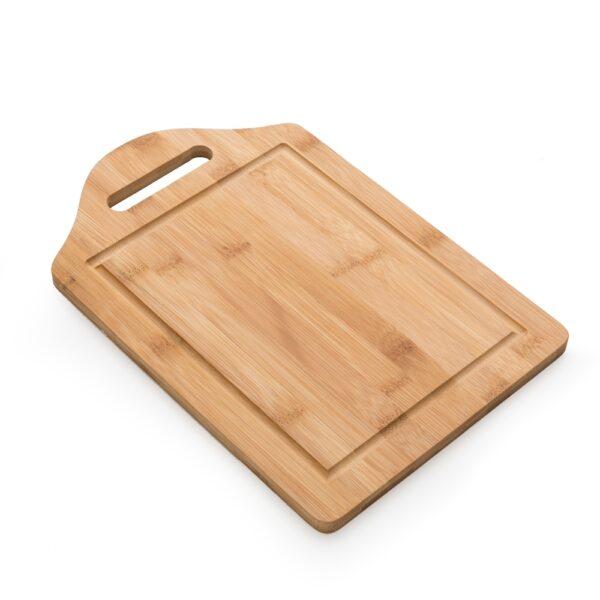 Tábua de Bambu com Canaleta - REF: 13270