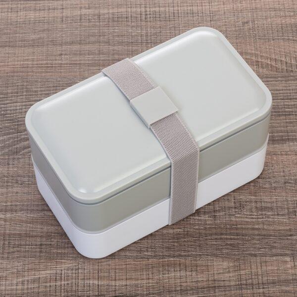 Marmita Plástica de 2 Compartilhamentos e Talheres - REF: 13564