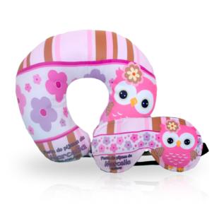 Almofada de Pescoço e Mascara de dormir Personalizadas - REF: 681668