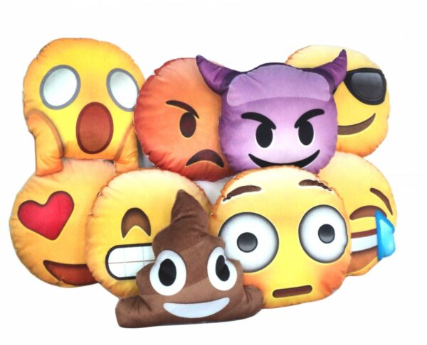 Emotions / Emoji - 20cm diâmetro - REF: 747419