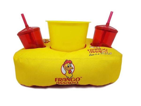 Almofada personalizada 2 copos e 1 balde - REF: 964098