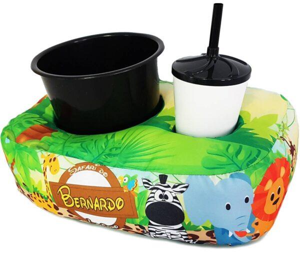 Almofada para pipoca personalizada 1 copo e balde - REF: 964113