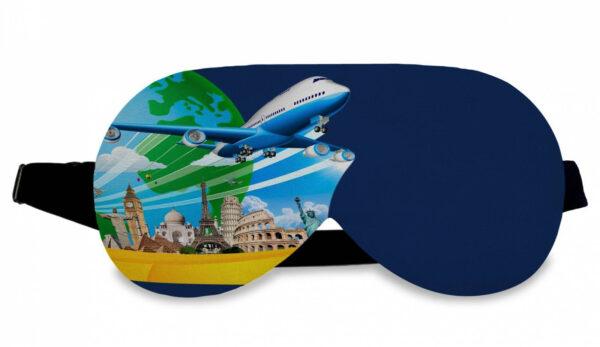 Mascaras de Dormir Personalizadas sem regulagem no elástico - REF: 979818