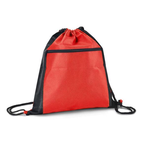 Sacola tipo mochila , 37 x 40 cm bolso frontal - REF: 986539