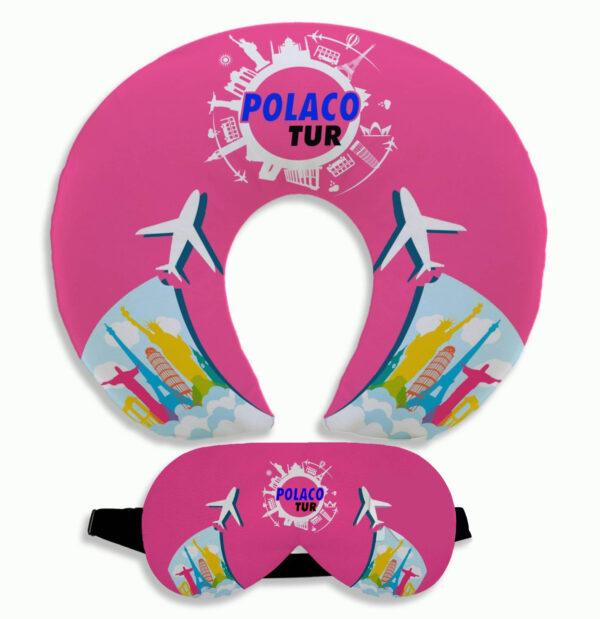 Almofada de Pescoço e Mascara de dormir personalizadas - REF: 986870