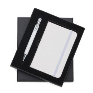 Conjunto Estojo e Caderneta tipo Moleskine - Ref. 13017