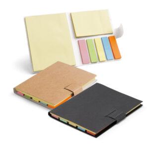 Caderno em cartão com 7 blocos adesivados - Ref. 93426-SG