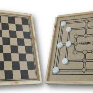 Jogo de Dama e Trilha - REF. 154-PG