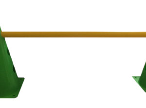 Cone de PVC 23 cm c/ barreira funcional - REF. 147-PG