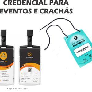 Credencial para Crachás - Ref. 514-PT