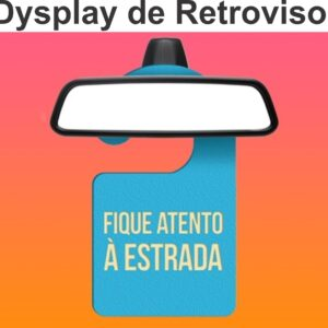 Display de Retrovisor - Ref. 515-PT