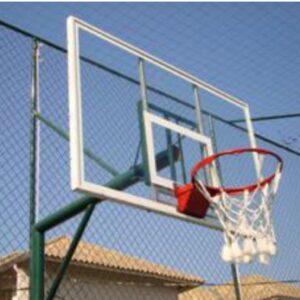Tabela de basquete em vidro temperado - REF. 168-ST