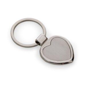 Chaveiro de Metal Formato Coração - Ref. 03194