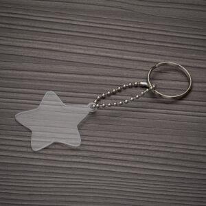 Chaveiro Plástico Estrela - Ref. 13278