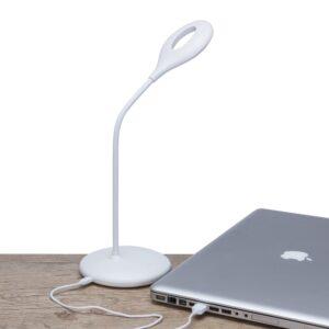 Luminária Plástica de Mesa 12 Leds Flexível - Ref. 13374