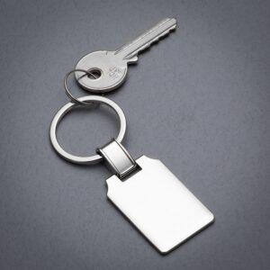 Chaveiro Metal Retangular - Ref. 14133