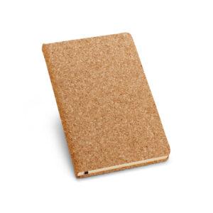Caderno Capa Dura em Cortiça - Ref. 93489-SG